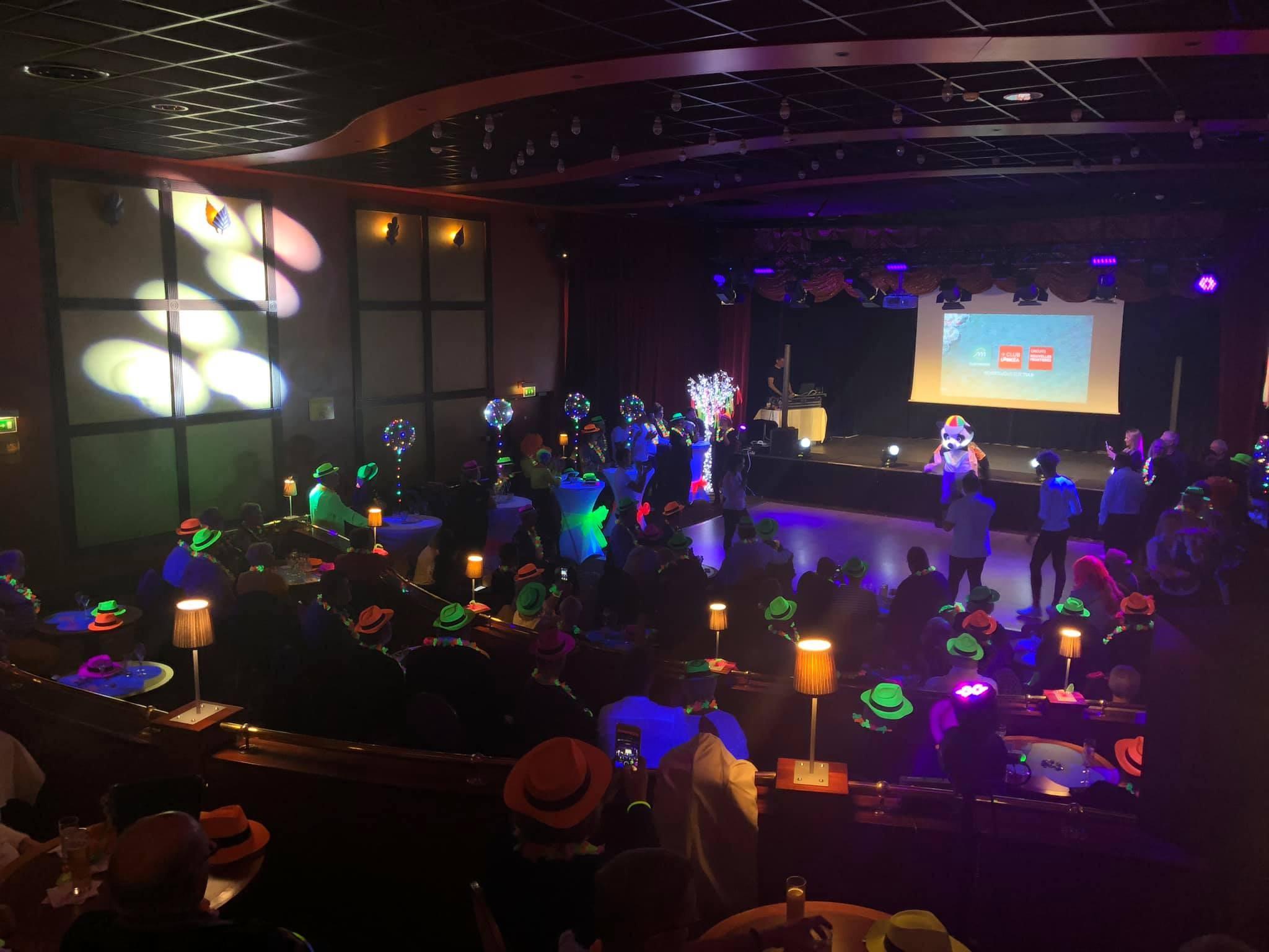 Soirée fluo au Casino de Dunkerque