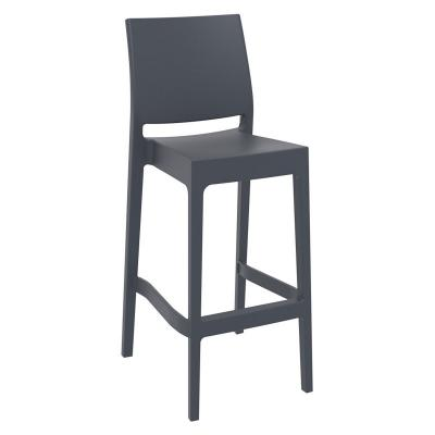 Tabouret gris anthracite - NSE Location 20.00€