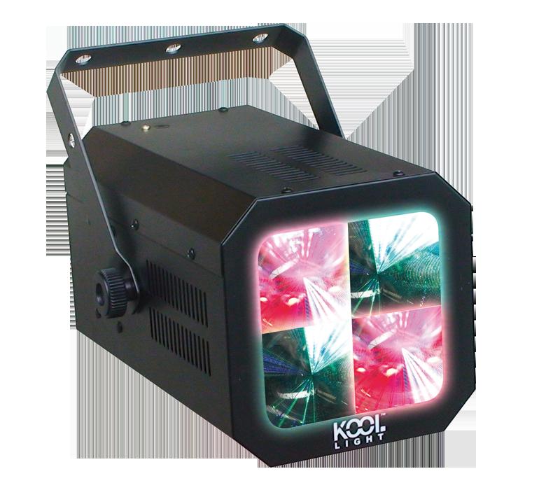 Jeu de lumière Urmil - 72 LEDS RVB - Effet multi-couleur - Mode musical