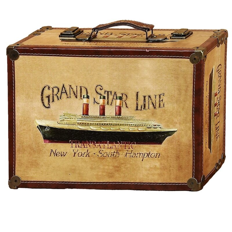 Location Valise Grand Star Line Transatlantic - 3.00€ TTC