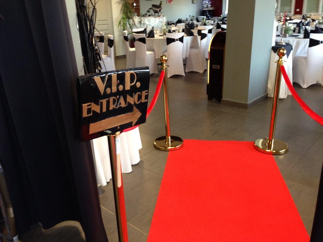 Entrée VIP au Restaurant