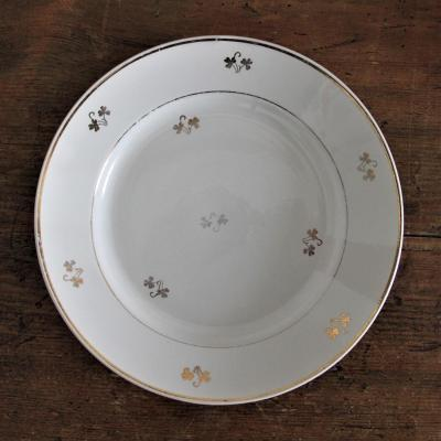 Assiette ceranord porcelaine opaque nse location dunkerque