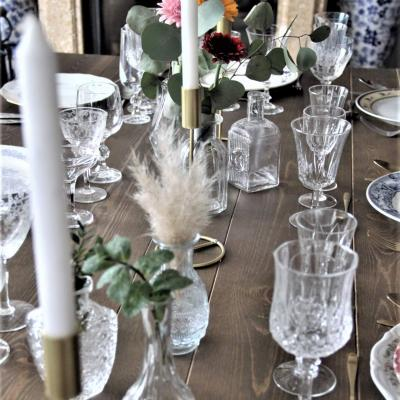Bougeoir or centre de table mariage