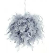 Boule de plumes grise nse location