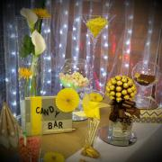 Candy bar avec vases nse
