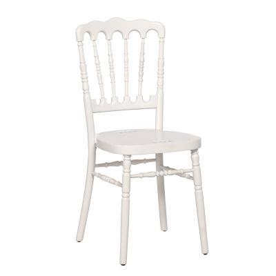 Chaise napoleon bois blanc