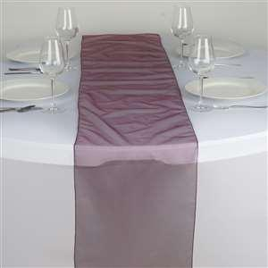 Chemin de table organza bordeaux nse location