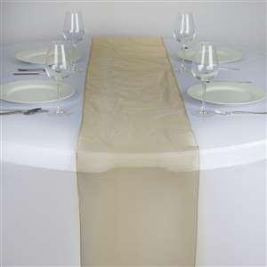 Chemin de table organza or nse location