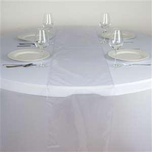 Chemin de table organza parme nse location