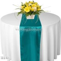 Chemin de table satin cyan nse location