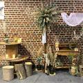 Deco photobooth mariage nature champetre