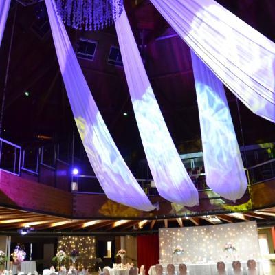Drape plafond lycra blanc nse location