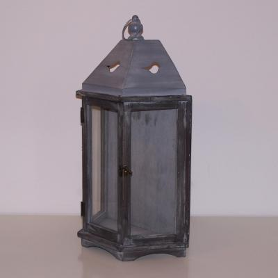 Lanterne bois et zinc nse location