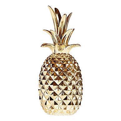 Location ananas or deco mariage tropical