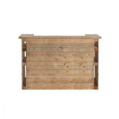 Location bar palette de style industriel en bois de palette recycle 2m dunkerque