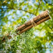 Location bois flottes mariage boheme
