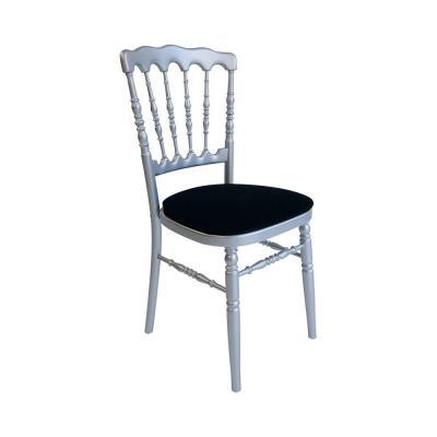 Location chaise napoleon argent