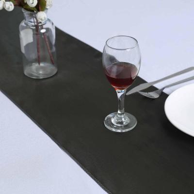 Location chemin de table satin gris fonce dunkerque