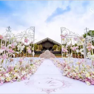 Location portail blanc pour mariage nord pas de calais dunkerque