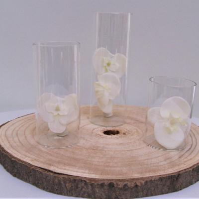 Location vase cylindre h10 15 20cm