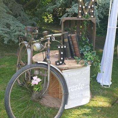 Location vieux velo mariage vintage dunkerque