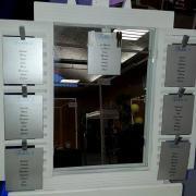 Miroir avec volet pour plan de table nse location
