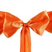 Noeud de chaise satin orange