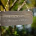 Pancarte notre histoire nse