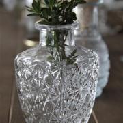 Petit vase mariage vintage 6 5x12 5cm