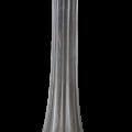 Soliflore en verre hauteur 20cm nse location