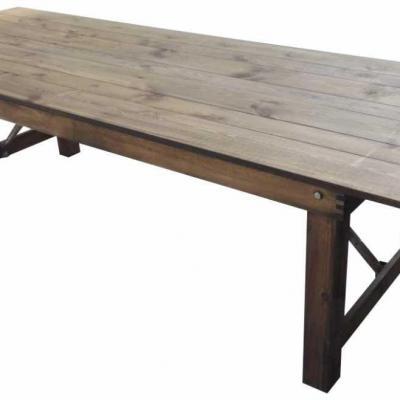 Table bois rustique 1