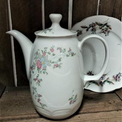 Theiere vaisselle vintage mariage