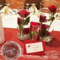 Vase cylindrique centre de table