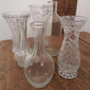 Vase vintage table de mariage dunkerque